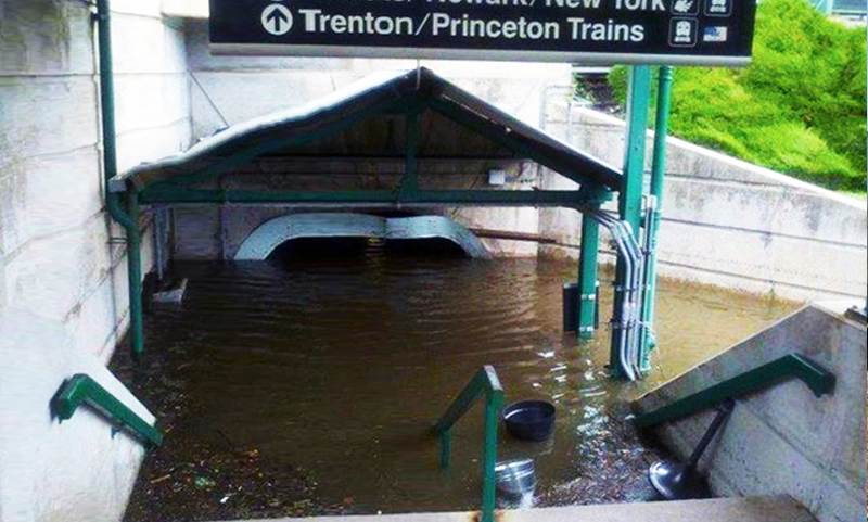 Resilience of NJ Transit Infrastructure to Climate Change