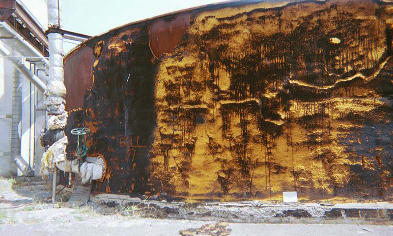 Preliminary Assessment and Remedial Action at the Former Garden State Paper Site
